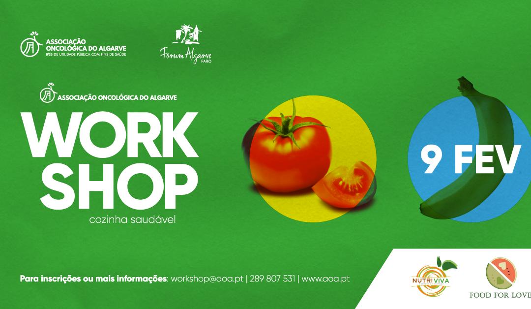 """""""Workshop: Cozinha Saudável"""" Solidário"""