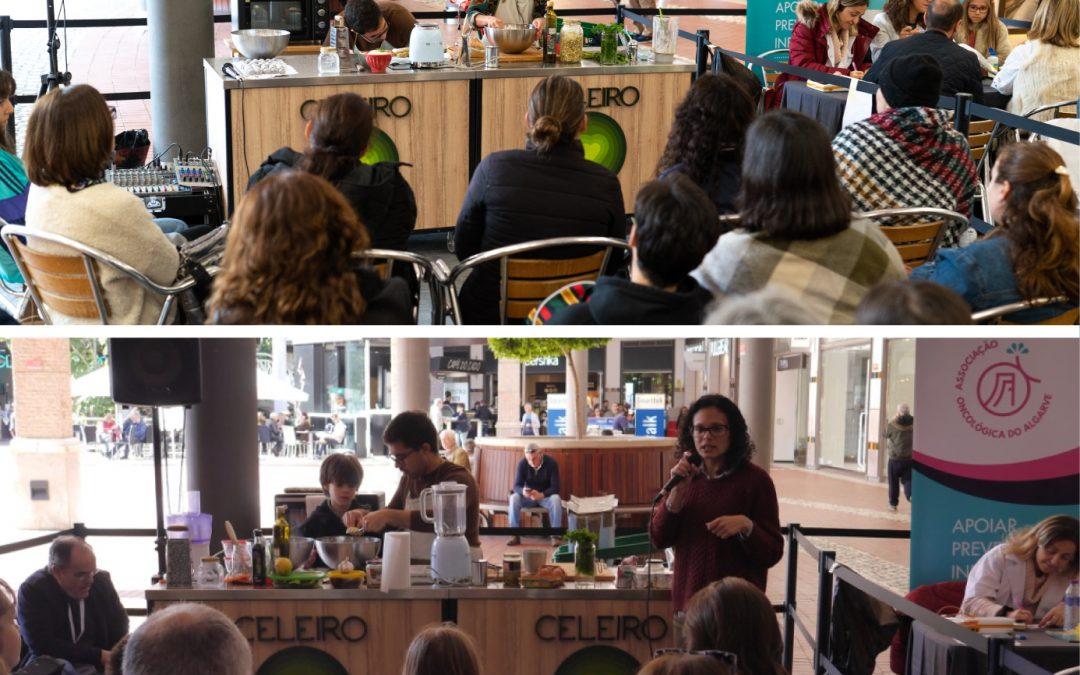 """AOA Junta 5 dezenas no """"Workshop de Cozinha Saudável"""""""