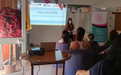 """Formação de voluntárias para a Campanha """"Verão sem Escaldão"""""""