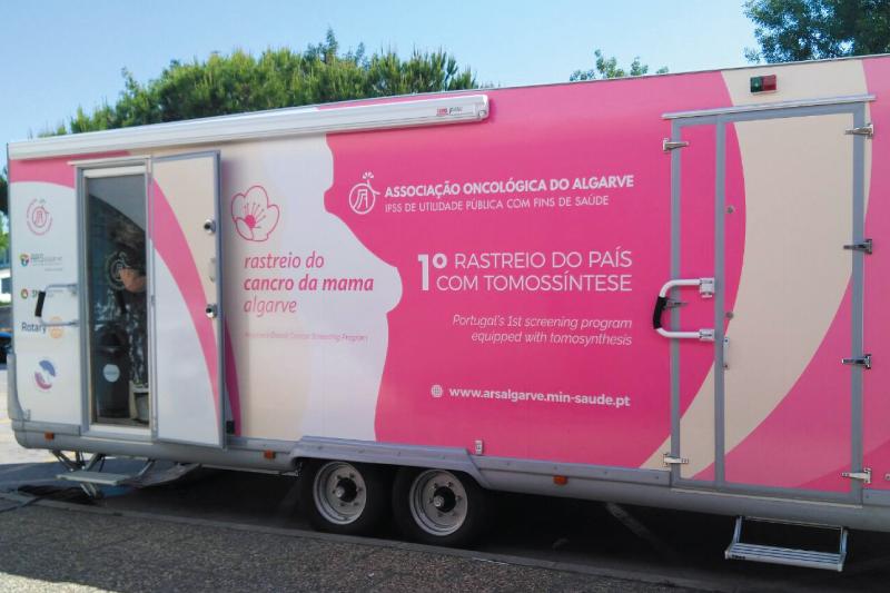 Rastreio Cancro da Mama Novamente Sobre Rodas