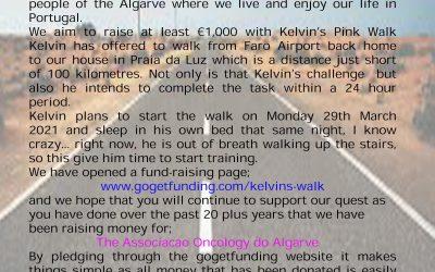 Kelvin's Pink Walk
