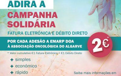 Campanha Solidária Fatura Ambiental | Empresa Municipal de Águas e Resíduos de Portimão (EMARP)